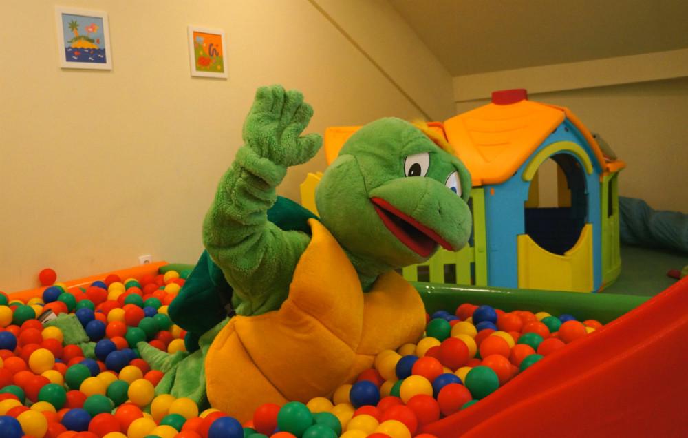 Pokój zabaw w Hotelu Activa